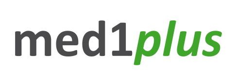 Logo von med1plus GmbH
